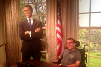 POTUS and I in the Oval Office!