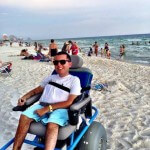 A Remarkable Beach Wheelchair in Panama City, FL