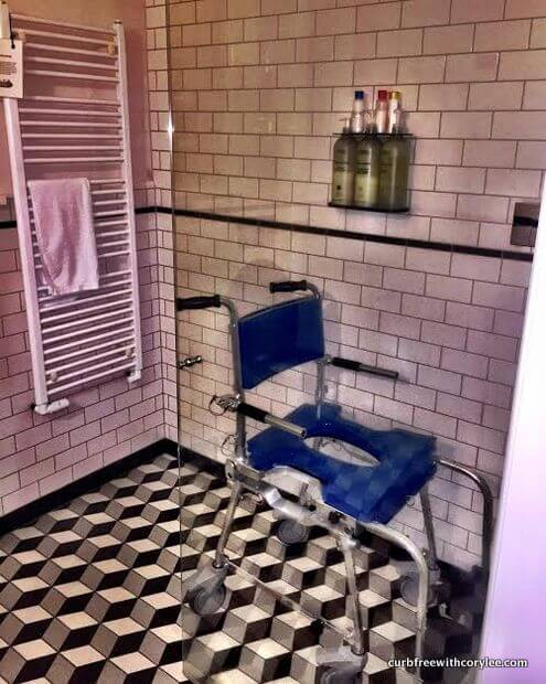 go mobility travel shower chair