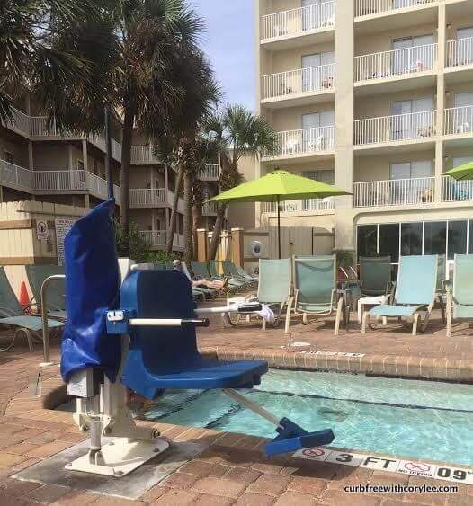 hilton garden inn orange beach wheelchair access review