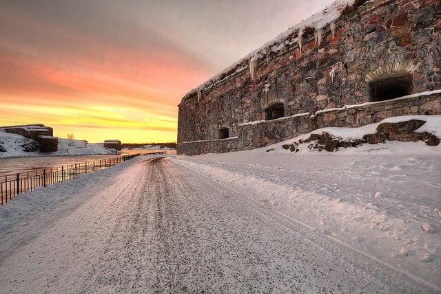 helsinki finland wheelchair accessible winter
