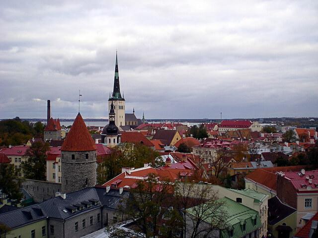 Tallinn, Estonia. Photo courtesy of Adrián Pérez via Flickr.