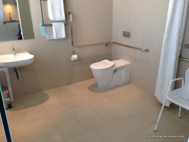 A Simple Guide To Booking Hotels For Wheelchair Users - Bathroom for wheelchair user