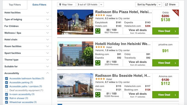 booking wheelchair accessible hotels guide
