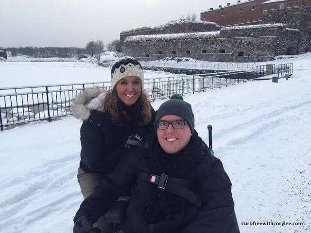 wheelchair accessible suomenlinna fortress helsinki