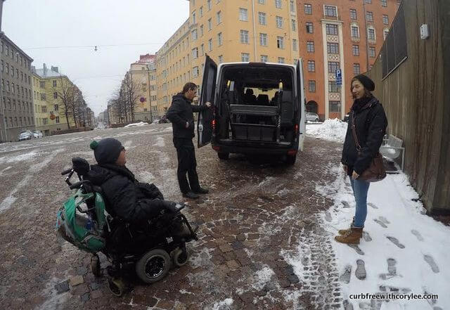 wheelchair accessible tour helsinki finland