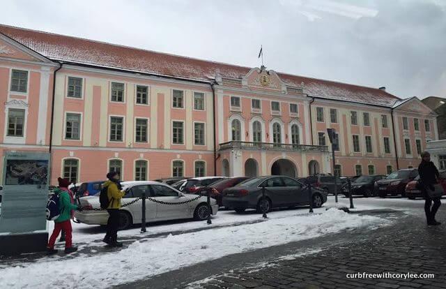 Toompea Castle, wheelchair accessible tallinn estonia