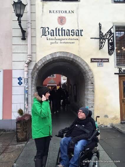 wheelchair accessible tallinn estonia