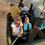 Going on a Wheelchair Accessible Hot Air Balloon Ride Over Israel