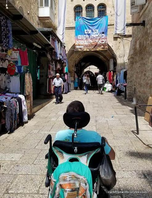 wheelchair accessible old city jerusalem israel