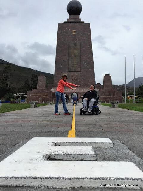 wheelchair accessible quito ecuador