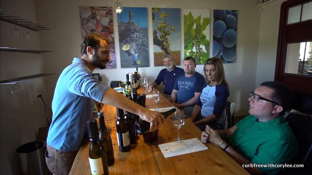 assaf winery wine tasting in israel