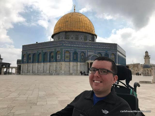 At Dome of the Rock in Jerusalem, why i love israel