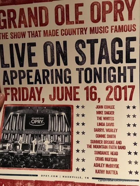 Grand Ole Opry Tickets >> Backstage For The Grand Ole Opry Tour A Country Music Experience I