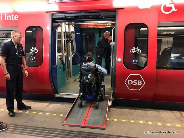 wheelchair accessible Copenhagen Denmark