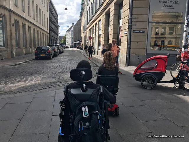 wheelchair accessible transportation copenhagen denmark