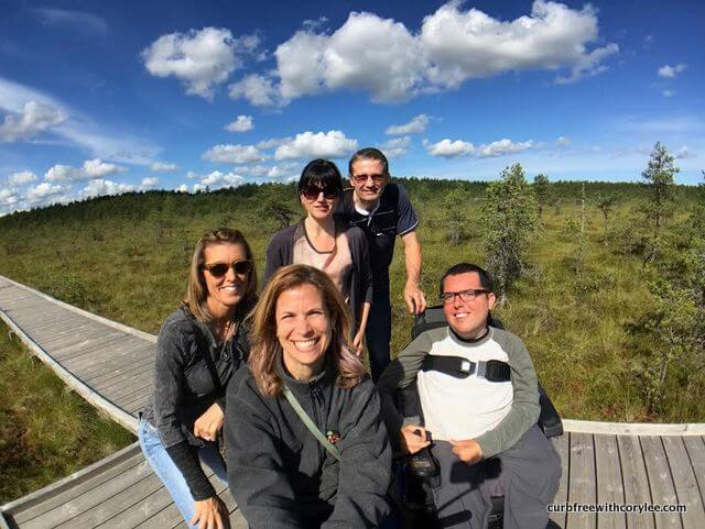 wheelchair accessible viru bog in estonia