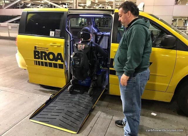 wheelchair accessible transportation portland taxi