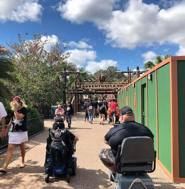 Getting Around Walt Disney World As A Wheelchair User