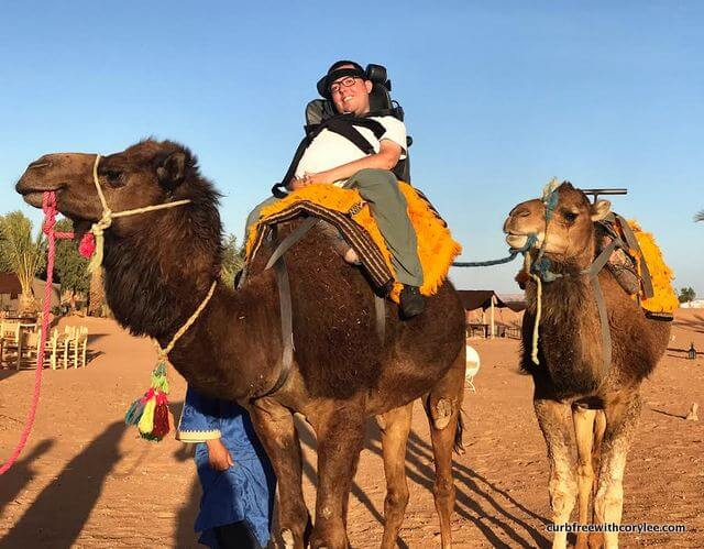 Image of: Sahara Curb Free With Cory Lee Overcoming My Fear In The Sahara Desert