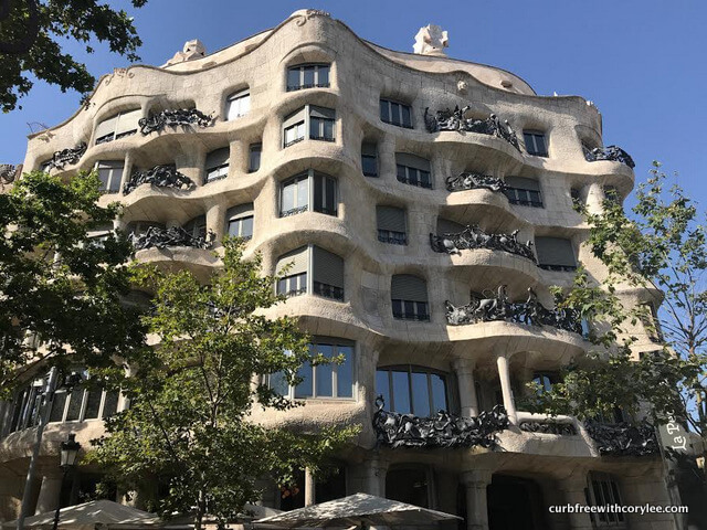 Barcelona wheelchair access guide, things to do in barcelona, barcelona tourist information, wheelchair accessible barcelona, barcelona travel guide, la pedrera