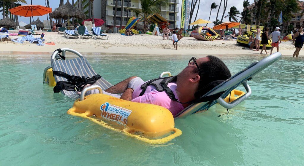 Relaxing in Aruba