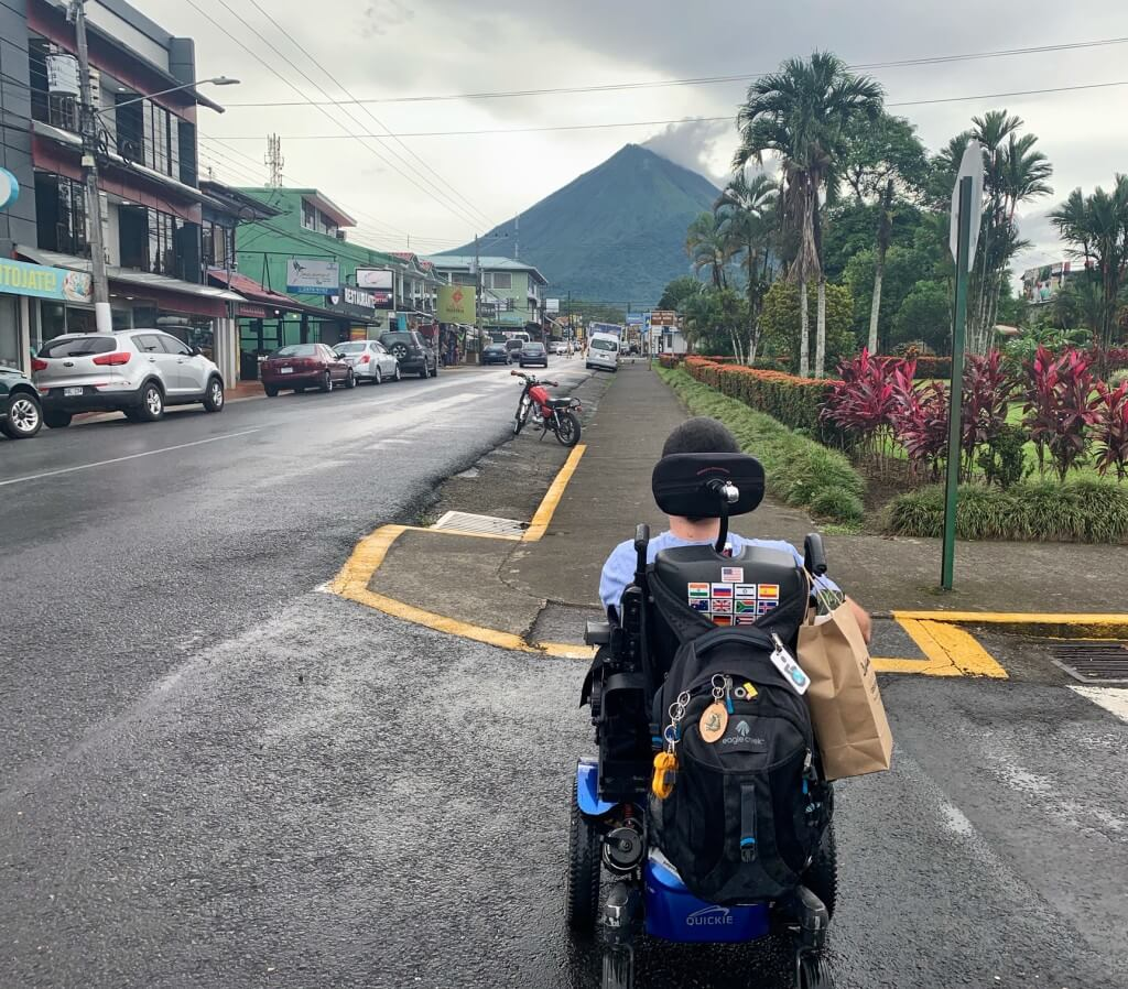 wheelchair accessible things to do in La Fortuna Costa Rica