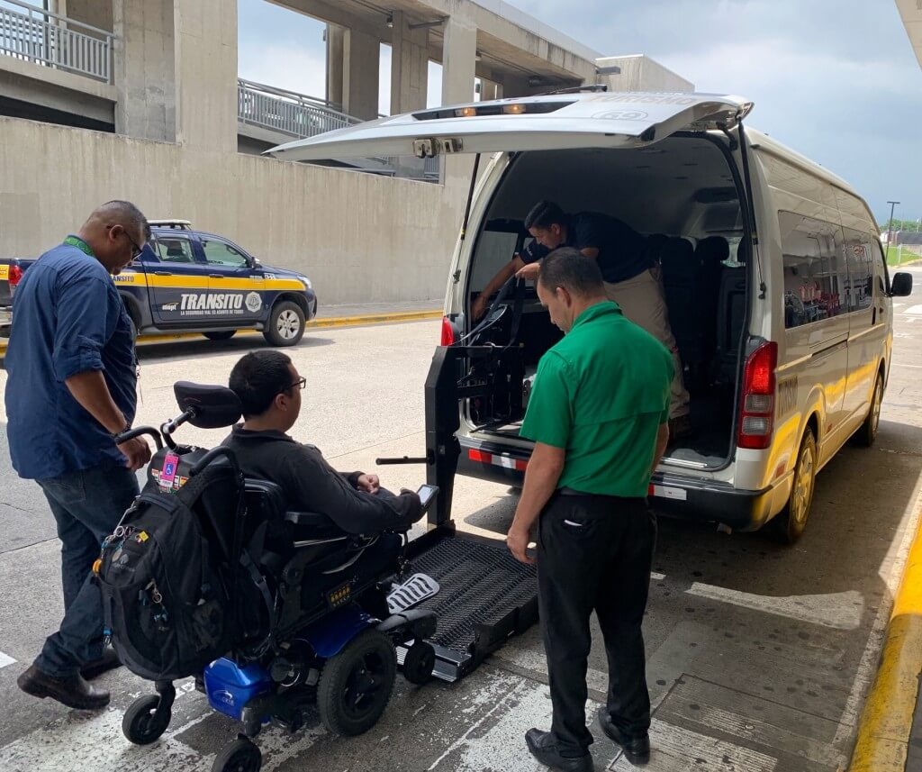Il Viaggio's accessible transportation