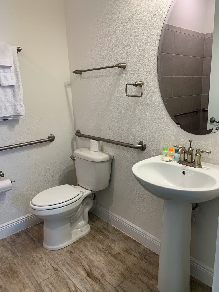 wheelchair accessible vacation rental